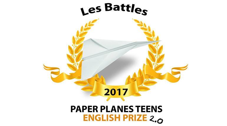 Résultats du concours d'écriture Paper Planes–English Prize 2.0 édition 2017