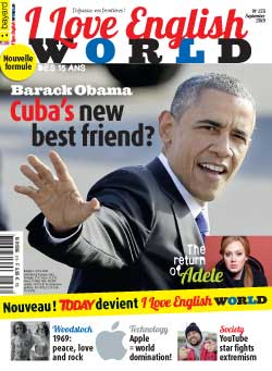 couverture de I Love English World n°275 - septembre 2015