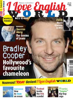 couverture de I Love English World n°276 - octobre 2015