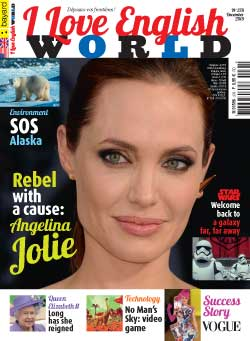 couverture de I Love English World n°278 - décembre 2015