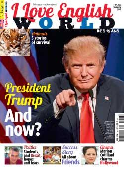 couverture de I Love English World n°290 - janvier 2017