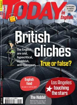 couverture de Today in English n°246 - décembre 2012
