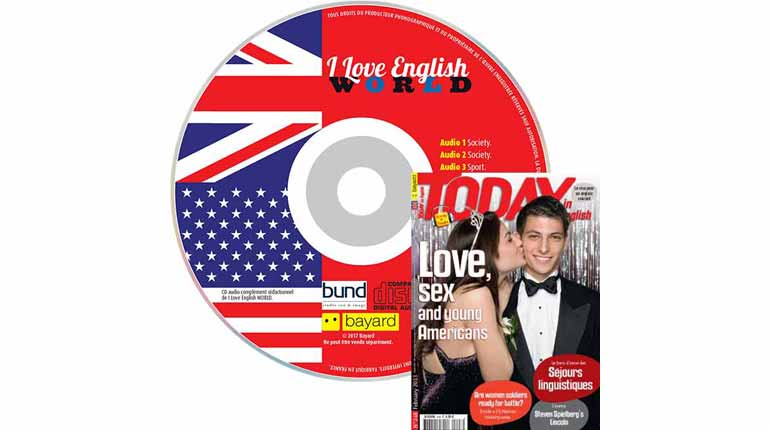 couverture Today in English n°248, février 2013, avec CD audio
