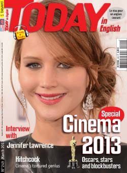 couverture de Today in English n°249 - mars 2013