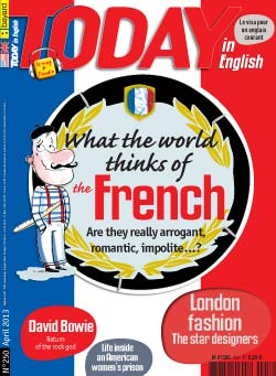 couverture de Today in English n°250 - avril 2013