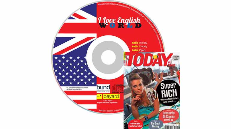 couverture Today in English n°251, mai-juin 2013, avec CD audio