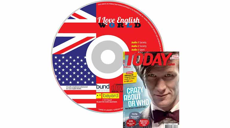 couverture Today in English n°257, janvier 2015, avec CD audio