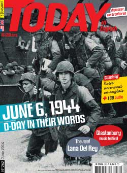 couverture de Today in English n°262 - juin 2014