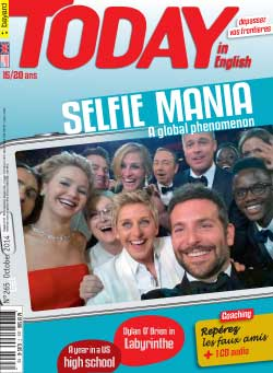 couverture de Today in English n°265 - octobre 2014