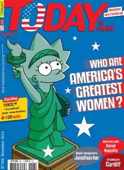 couverture de Today in English n°266 - novembre 2014
