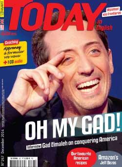couverture de Today in English n°267 - décembre 2014