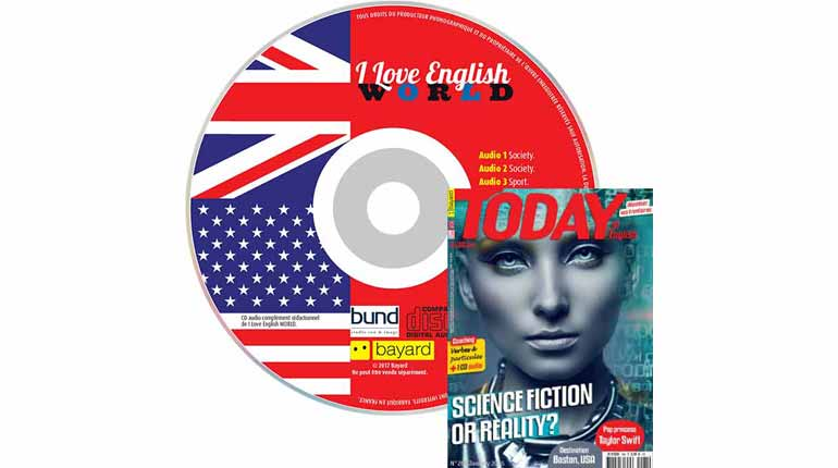 couverture Today in English n°268, janvier 2015, avec CD audio