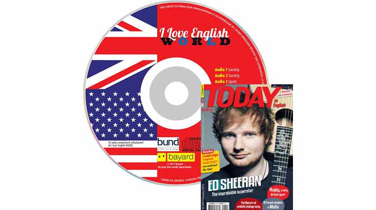 couverture Today in English n°269, février 2015, avec CD audio