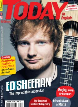 couverture de Today in English n°269 - février 2015