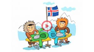 Vidéo Tongue Twister Inuits iron anoraks in Iceland
