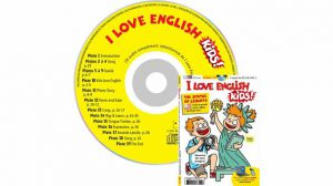 couverture I Love English for Kids n°186, septembre 2017, avec CD audio
