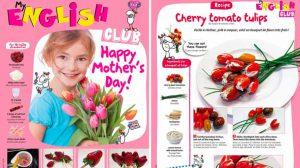 idées bricolages fête des mères du magazine I Love English for Kids