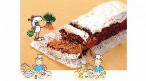 Recette du Carrot Cake du magazine I Love English for Kids