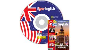 couverture I Love English n°254, septembre 2017, avec CD audio
