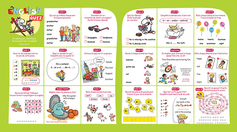 Un quiz pour réviser l'anglais en s'amusant En savoir plus : /parents/quiz-reviser-langlais-samusant