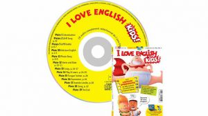 couverture I Love English for Kids n°187, octobre 2017, avec CD audio