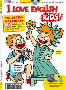 couverture I Love English for Kids n 186 - septembre 2017