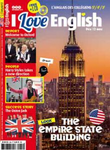 couverture I Love English n254 - septembre 2017