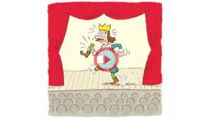 Vidéo expression Break a leg