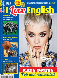 couverture I Love English n°255 - octobre 2017
