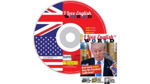 couverture I Love English World n°299, novembre 2017, avec CD audio