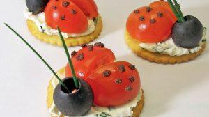 Recette Ladybird snacks (coccinelles à croquer)