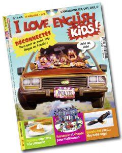 Couverture du magazine I Love English for Kids n°221, novembre 2020
