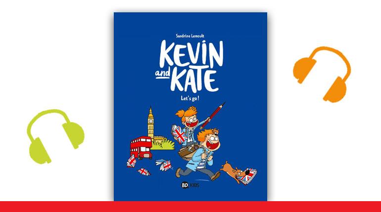 """Couverture de la BD Kevin and Kate, tome 1, """"Let's go!"""""""