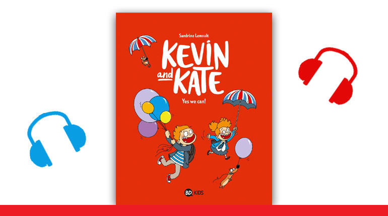 """Couverture de la BD Kevin and Kate, tome 3, """"Yes we can!"""""""